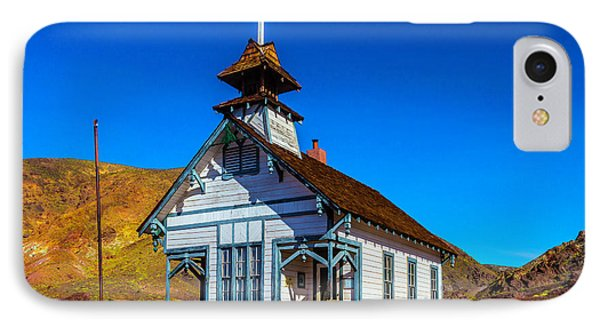 Calico School House IPhone Case by Garry Gay
