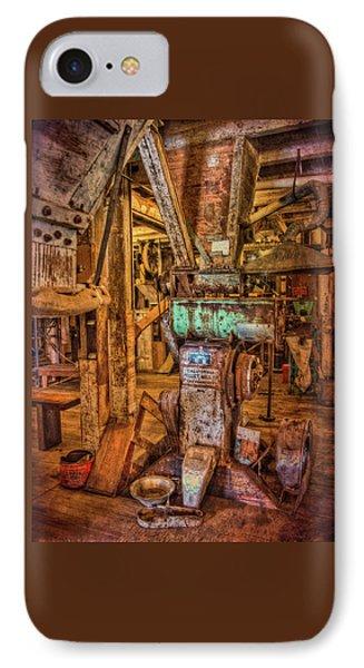 California Pellet Mill Co IPhone Case by Thom Zehrfeld