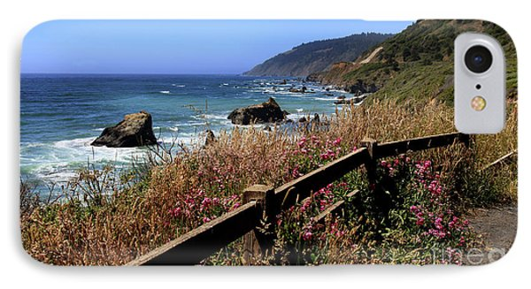 IPhone Case featuring the photograph California Coast by Joseph G Holland