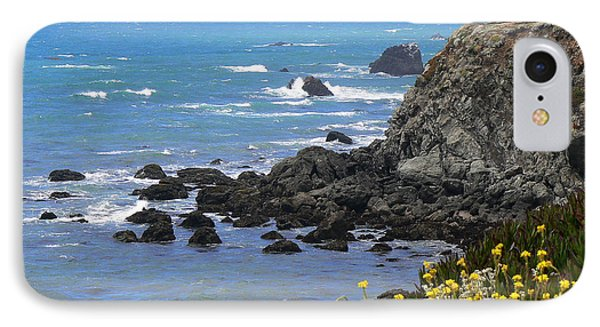 California Coast IPhone Case by Laurel Powell