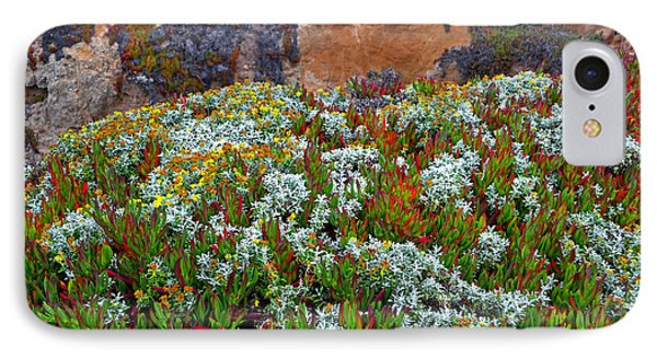 California Coast Wildflowers IPhone Case