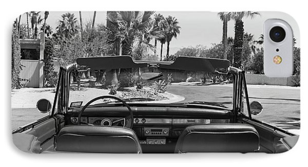 California Cruisin B And W IPhone Case by Cheri Randolph