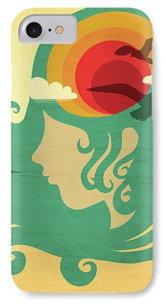 California Dreaming IPhone Case by Little Bunny Sunshine