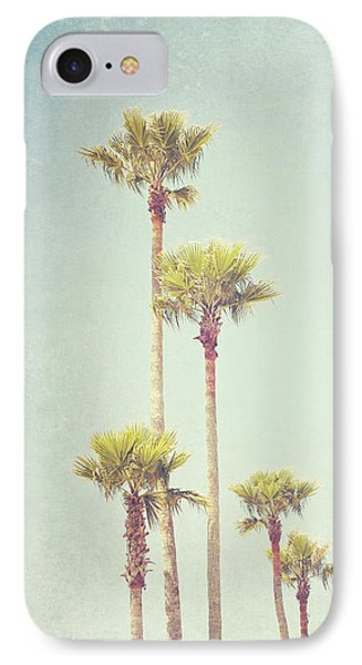 California Dreaming - Palm Tree Print IPhone Case by Melanie Alexandra Price