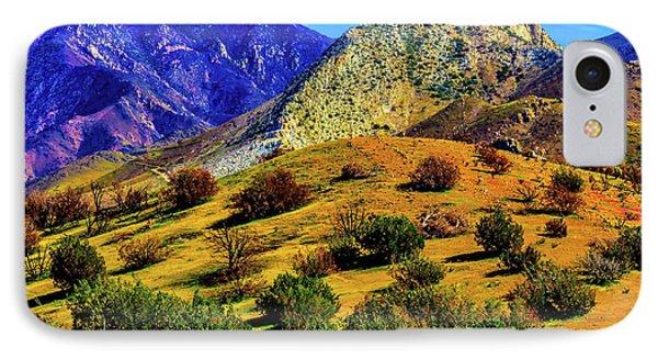 California Hills IPhone Case
