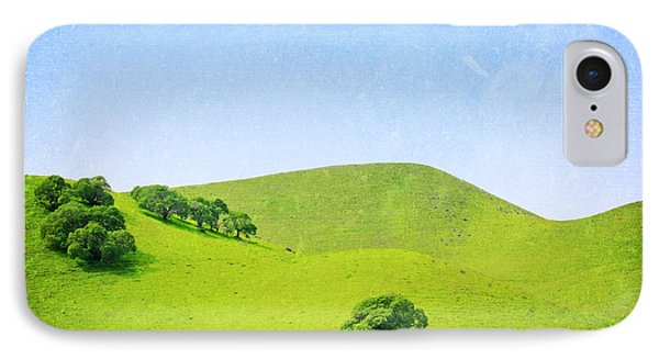 IPhone Case featuring the photograph California Hillside by Melanie Alexandra Price