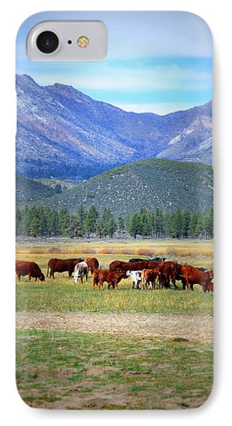 IPhone Case featuring the photograph California Pastures by Glenn McCarthy Art and Photography