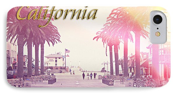 California IPhone Case by Phil Perkins
