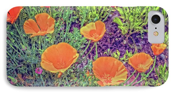 IPhone Case featuring the photograph California Poppys Too by William Havle