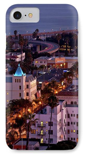 California Street At Ventura California IPhone Case by John A Rodriguez
