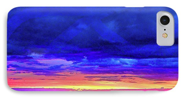 IPhone Case featuring the painting California Sunrise by Joan Reese