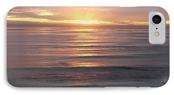 IPhone Case featuring the photograph California Sunset by Carol  Bradley