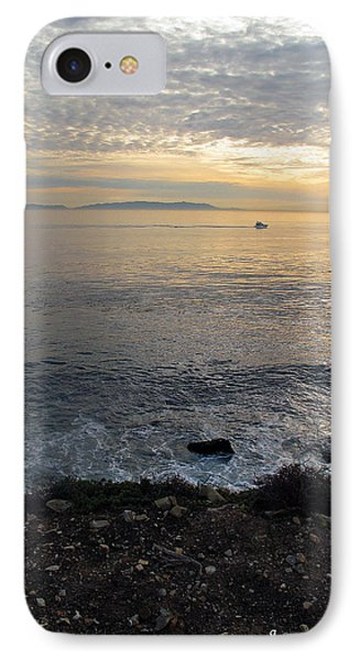 IPhone Case featuring the photograph California Sunset by Joan  Minchak