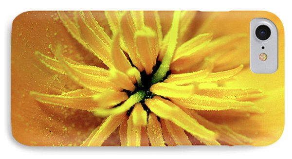 Californian Poppy Macro IPhone Case