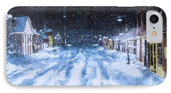 IPhone Case featuring the painting Call Out The Plows by Jack Skinner