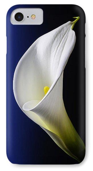 Calla Blue Black IPhone Case