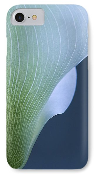 IPhone Case featuring the photograph Calla Curves by Tom Vaughan