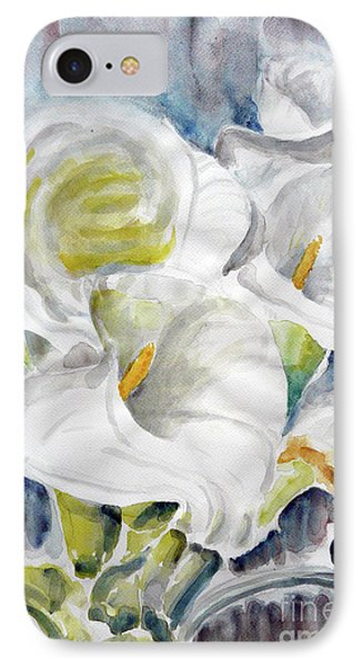 IPhone Case featuring the painting Calla by Jasna Dragun