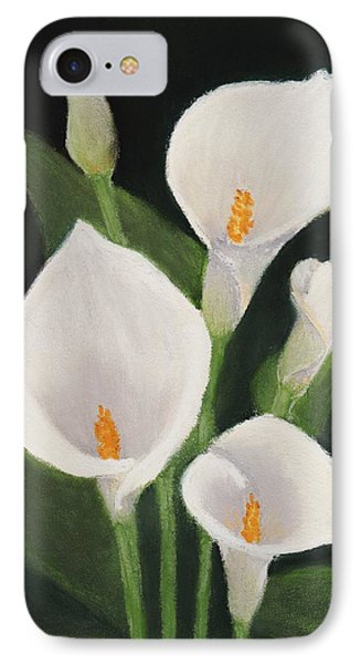 Calla Lilies IPhone Case by Anastasiya Malakhova