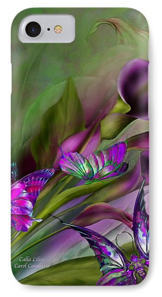 Calla Lilies IPhone Case