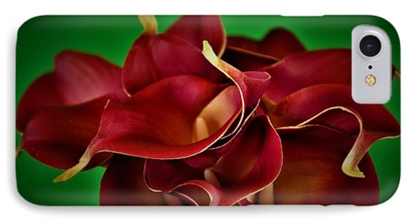 Calla Lily Bouquet IPhone Case by Ray Shrewsberry
