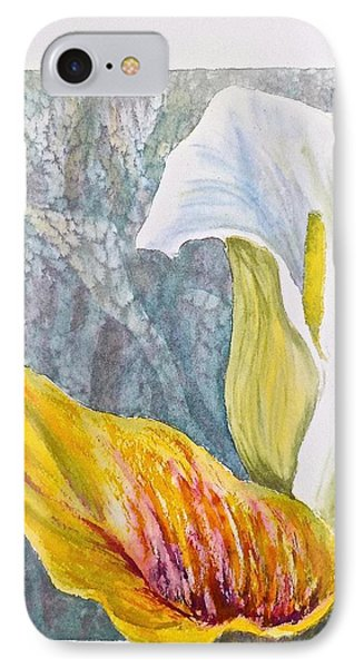 Calla Lily IPhone Case by Carolyn Rosenberger