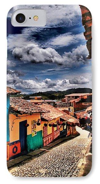 Calle De Colores Phone Case by Skip Hunt