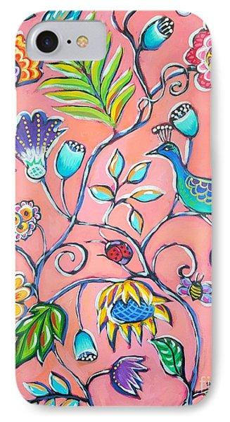 Callies Garden Phone Case by Sandra Lett