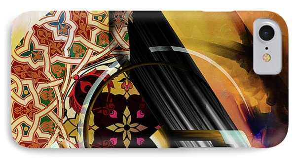 IPhone Case featuring the painting Calligraphy 103 1 1 by Mawra Tahreem