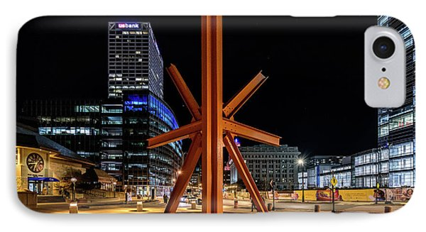Calling After Sundown IPhone Case by Randy Scherkenbach