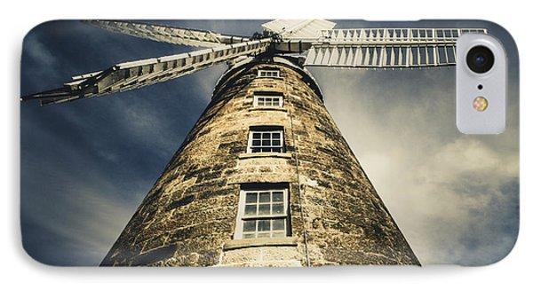 Callington Mill In Oatlands Tasmania IPhone Case by Jorgo Photography - Wall Art Gallery
