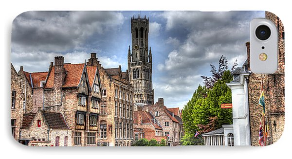 IPhone Case featuring the photograph Calm Afternoon In Bruges by Shawn Everhart