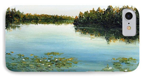 IPhone Case featuring the painting Calm by Arturas Slapsys