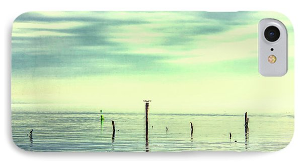 IPhone Case featuring the photograph Calm Bayshore Morning N0 1 by Gary Slawsky