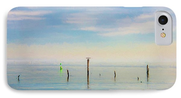 IPhone Case featuring the photograph Calm Bayshore Morning N0 2 by Gary Slawsky