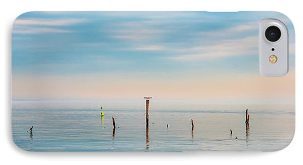 IPhone Case featuring the photograph Calm Bayshore Morning N0 3 by Gary Slawsky