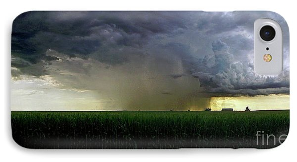 Calm Before The Storm IPhone Case by Sue Stefanowicz