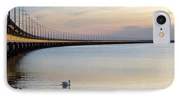IPhone Case featuring the photograph Calm Evening By The Bridge by Kennerth and Birgitta Kullman