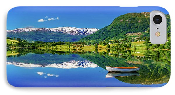 IPhone Case featuring the photograph Calm Morning On Lonavatnet by Dmytro Korol