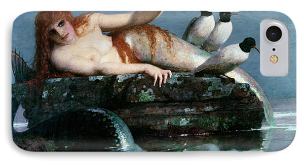 Calm Sea IPhone Case by Arnold Bocklin