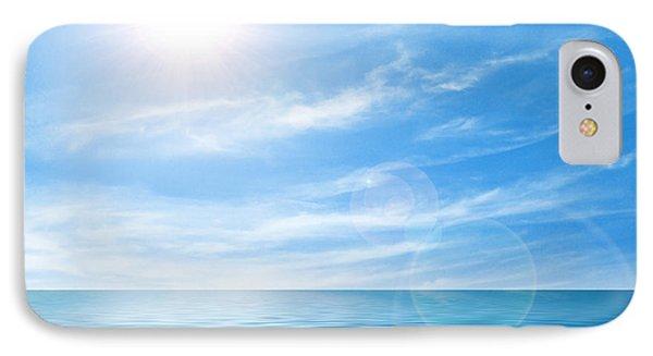 Calm Seascape IPhone Case by Carlos Caetano