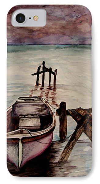 IPhone Case featuring the painting Calm Waters by Lil Taylor