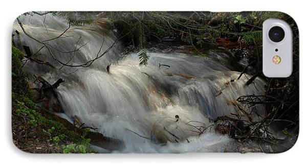 Calming Stream IPhone Case by DeeLon Merritt