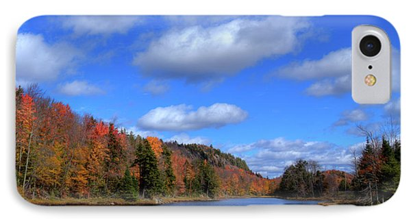 Calmness On Bald Mountain Pond IPhone 7 Case by David Patterson