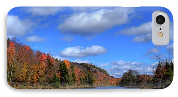 Calmness On Bald Mountain Pond IPhone Case by David Patterson
