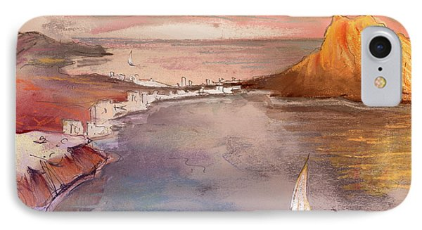 Calpe At Sunset IPhone Case by Miki De Goodaboom
