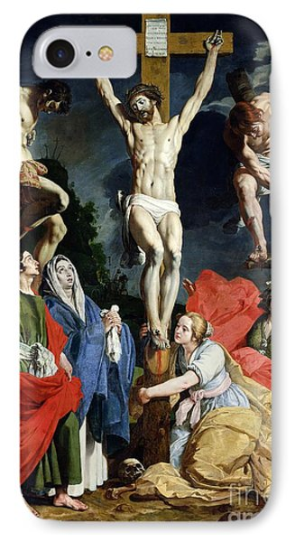 Calvary IPhone Case by Abraham Janssens van Nuyssen