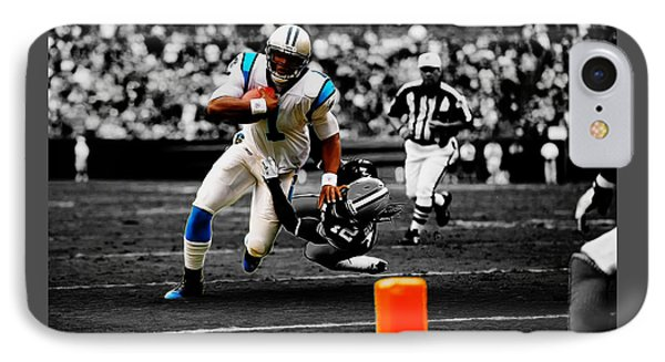 Cam Newton Eye On The Prize IPhone Case
