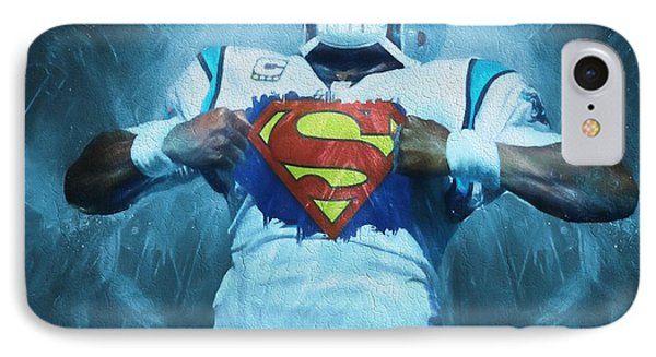 Cam Newton Superman IPhone 7 Case by Dan Sproul