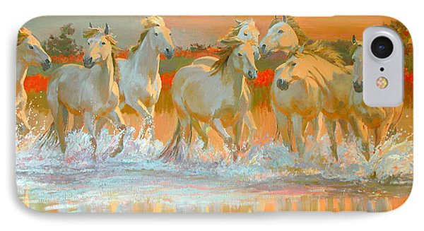 Camargue  IPhone Case by William Ireland